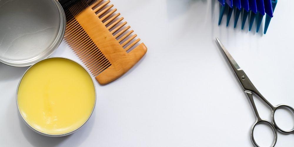 Bartwachs für das Styling