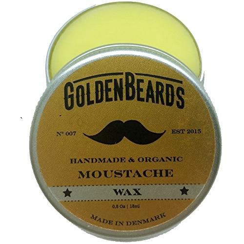 Golden Beards Moustache Wax