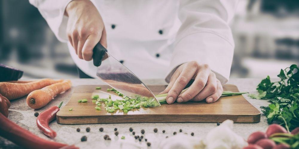 Kochmesser und Messerarten
