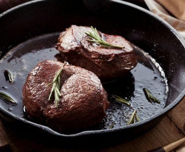 Pfannen für Steak