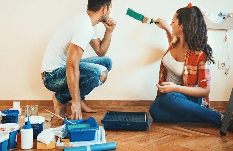 Zubehör zum Wände streichen kaufen