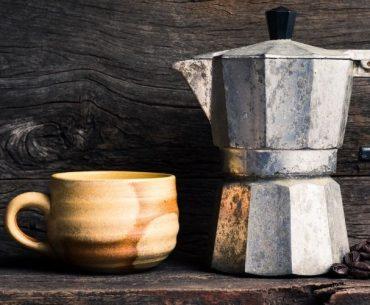 Espressokocher Kaffee italienisch