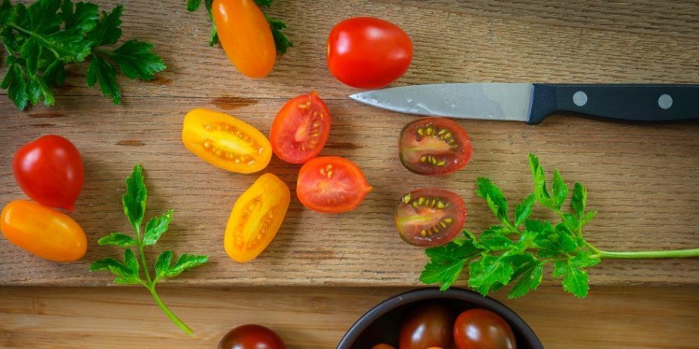 Gemüsemesser für Obst und Gemüse